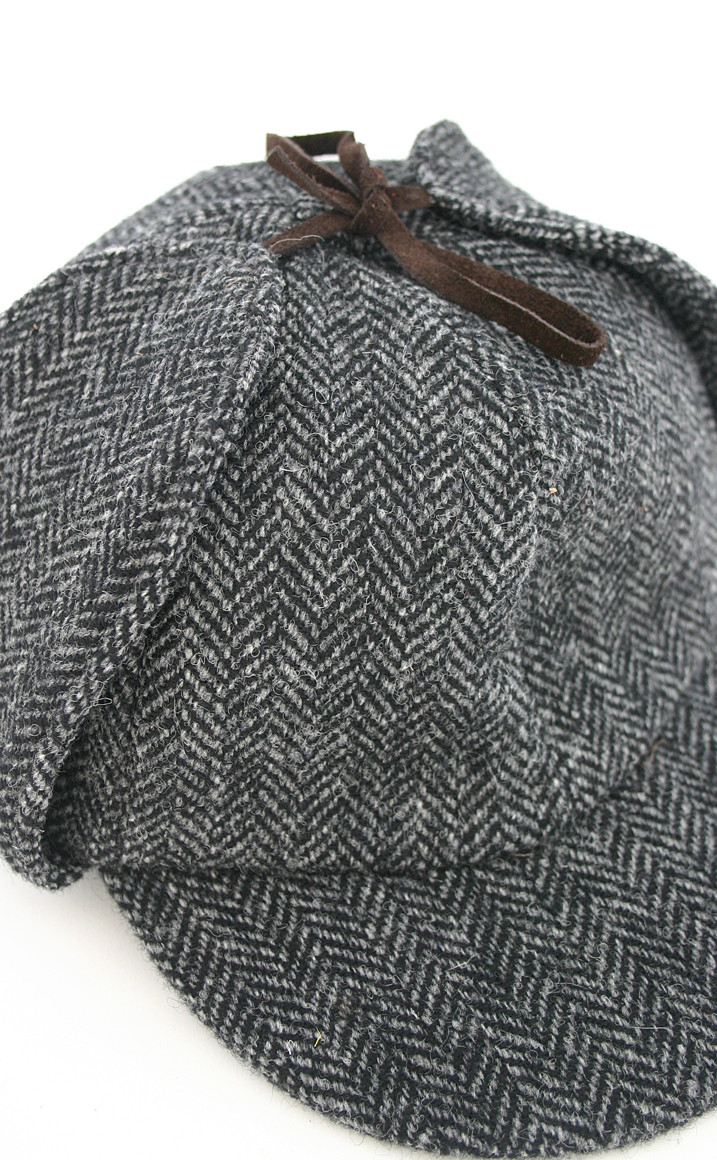 Colour: Grey Herringbone
