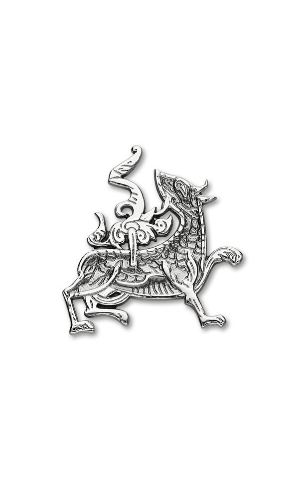 MaesHowe Dragon Brooch B604 Front