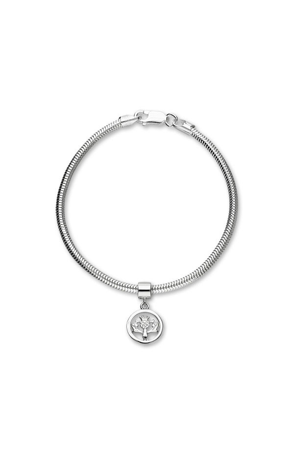 Thistle Charm C305 On Bracelet