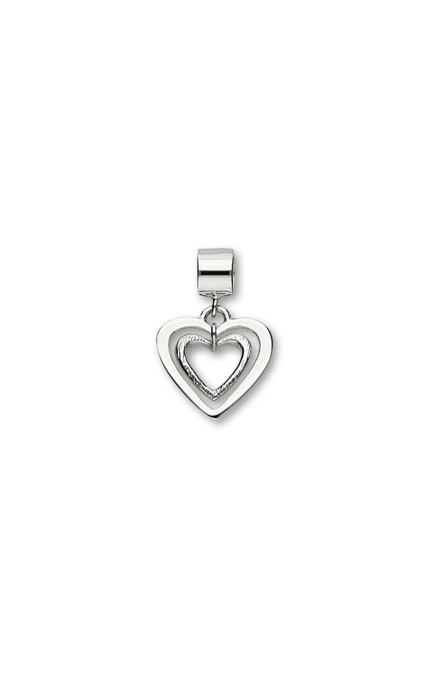 Hearts Charm C313 Front