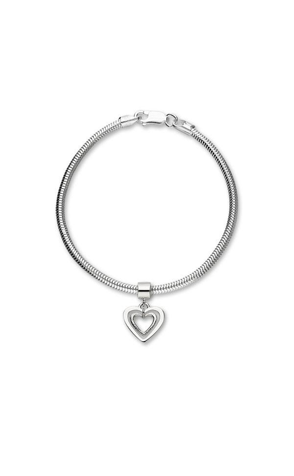 Hearts Charm C313 On Bracelet
