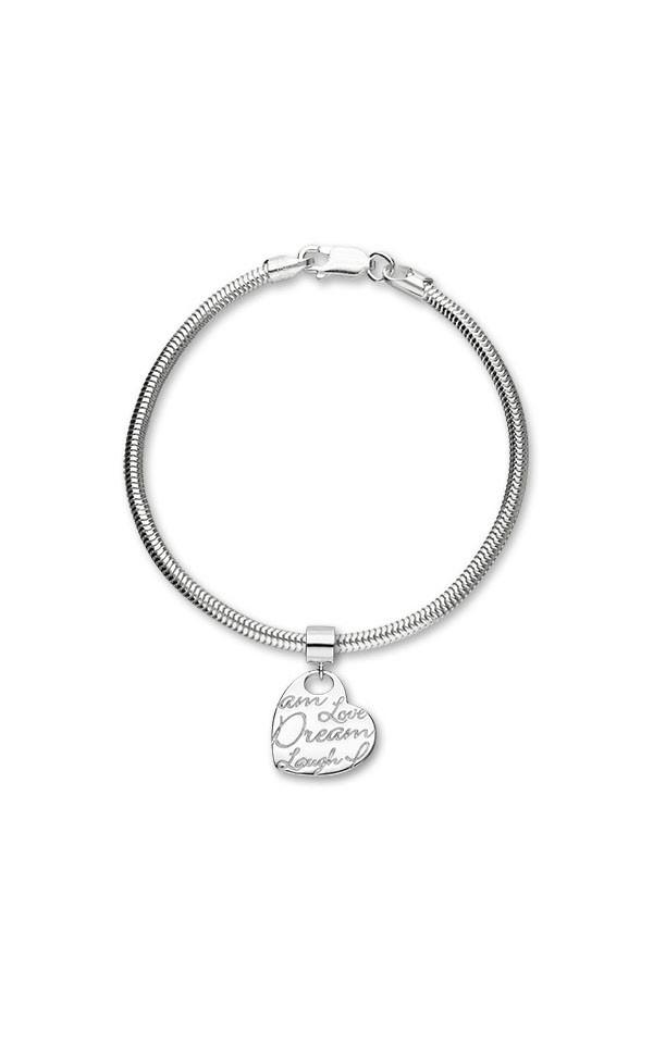 Script Charm C314 On Bracelet
