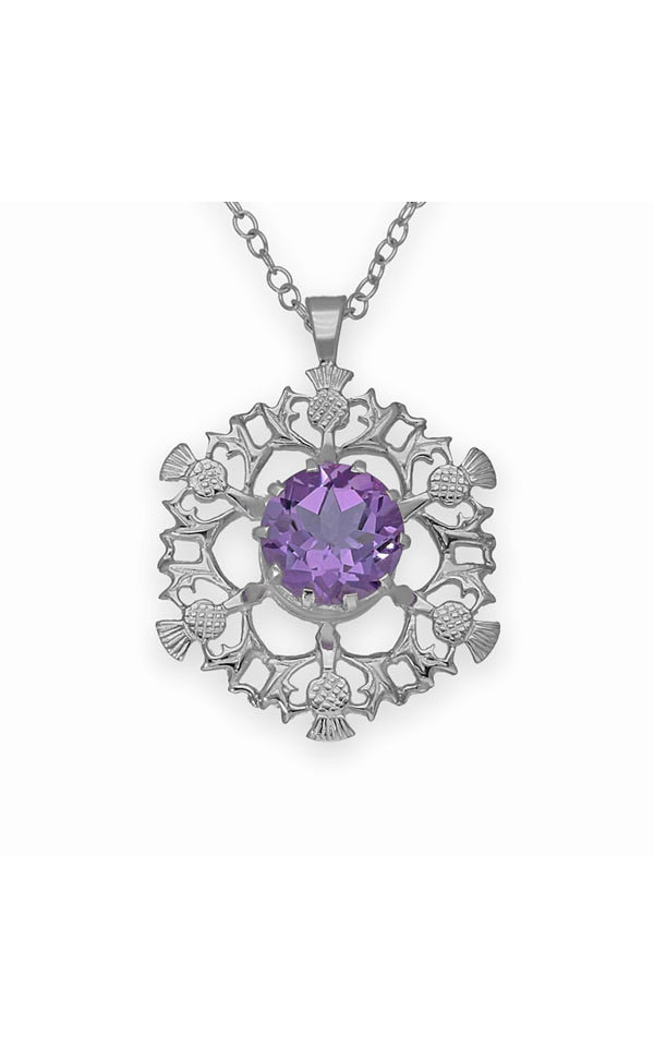 Thistle Pendant CP25 Front