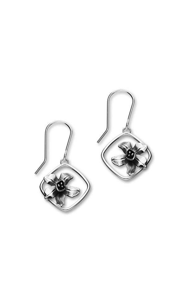 Birth Flowers Earrings E1865 Front