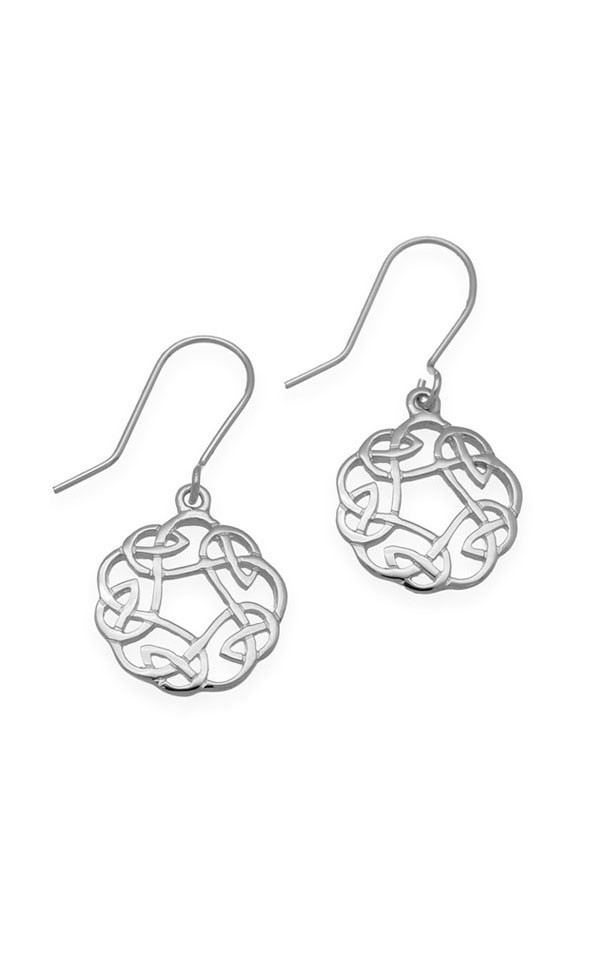 Celtic Earrings E322 Front