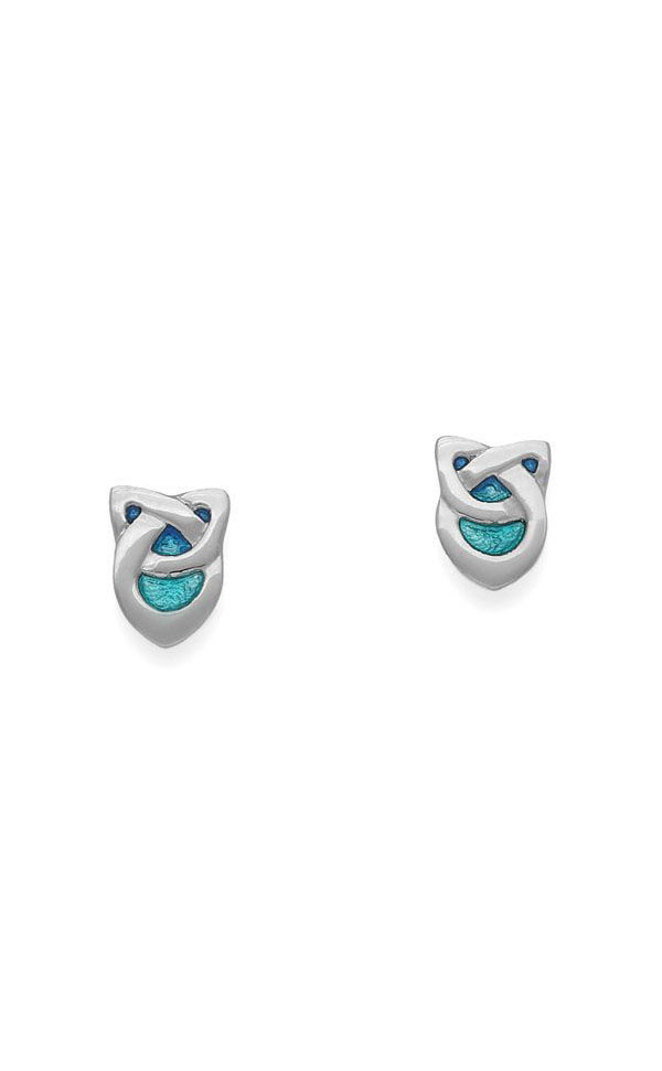 Archibald Knox Stud Earrings EE74 Front