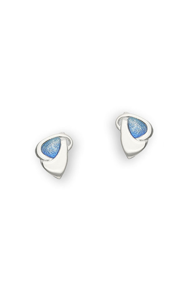Archibald Knox Stud Earrings EE78 Front