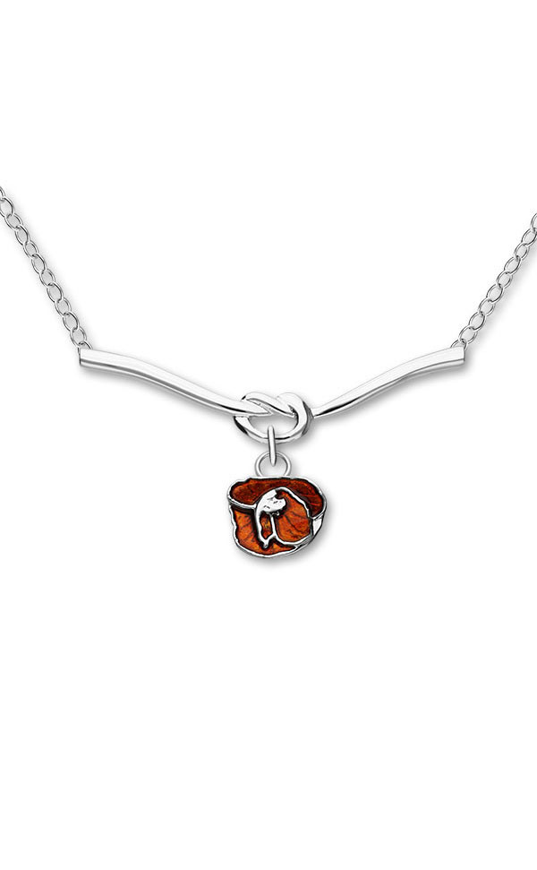 Poppies Necklet EN112 Front