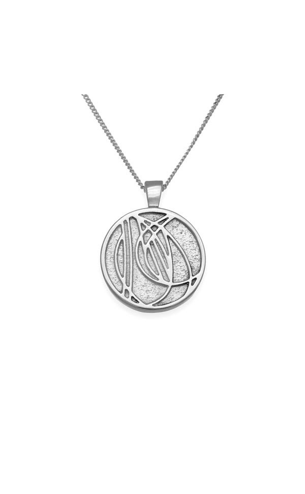 Charles Rennie Mackintosh Pendant P592 Front