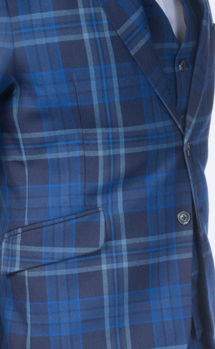 Tartan: House of Merchiston Blue Modern