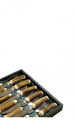 Stag Antler Cutlery Set