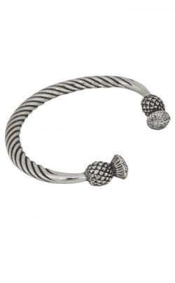 Thistle Torc Bangle