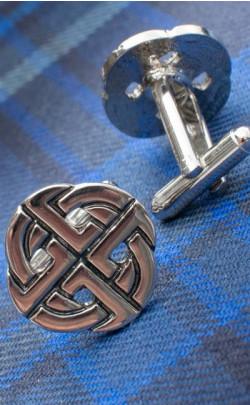 Celtic Knot Cuff Links