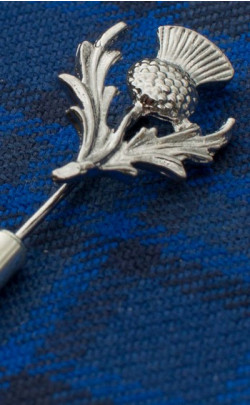 Thistle Tie Pin