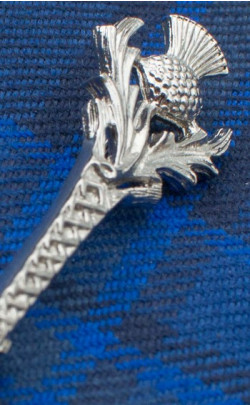 Thistle and Knot Kilt Pin