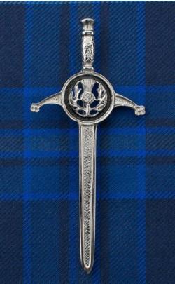 Thistle Sword Kilt Pin
