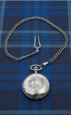 Clan Crest Quartz Pocket Watch