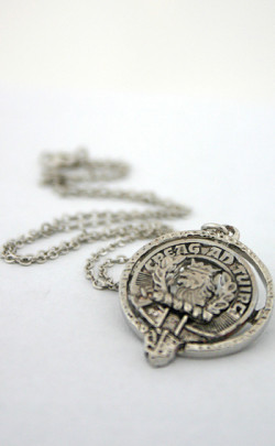 Clan Crest Pendant with chain