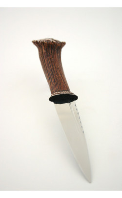 Stag handle Clan Crest Sgian Dubh