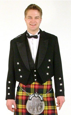Essential Scotweb Prince Charlie Jacket and Vest