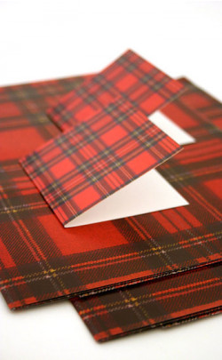Luxury Scottish Gift Wrap and Tags Set