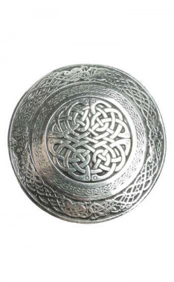 Circular Celtic Belt Buckle