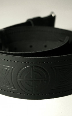 Classic Kilt Belt, Celtic Knot design