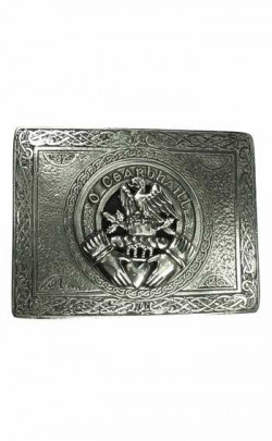 Irish Clan Crest Belt Buckle