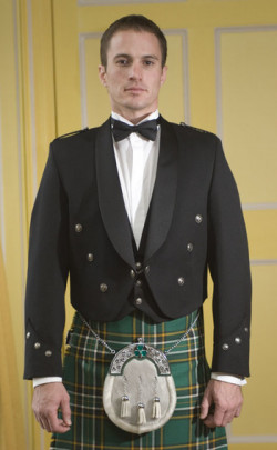Made to Measure Irish Brian Boru Jacket, with vest