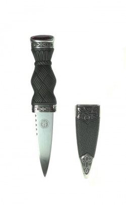 Plain Patterned Sgian Dubh