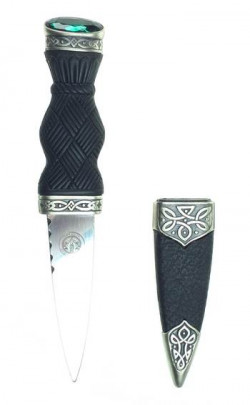 Antique Silver Wallace Sgian Dubh