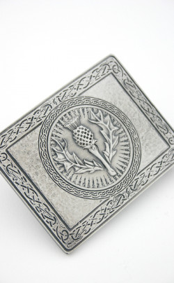 Wallace Collection Thistle Design Belt Buckle