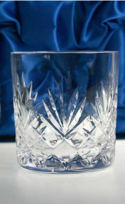 Cut Crystal Whisky Tumbler Set
