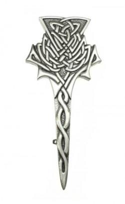Highland Thistle Kilt Pin