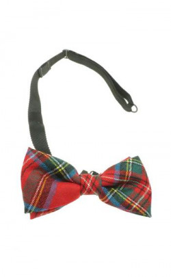Essential Scotweb Tartan Adjustable Bow Tie