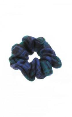 Worsted Wool Tartan Scrunchie
