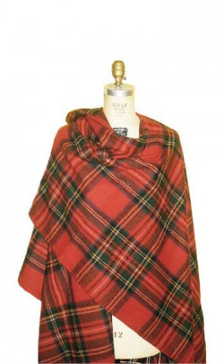 Essential Scotweb Brushed Wool Tartan Serape