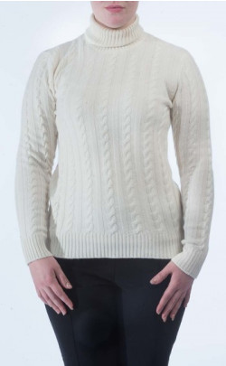Luxury Cashmere Roll Neck Jumper