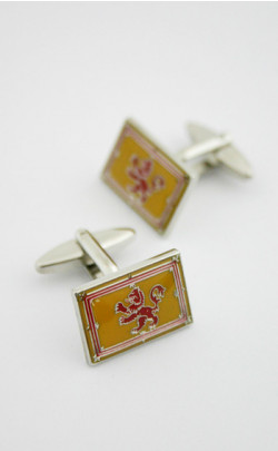 Lion Rampant Cuff Links