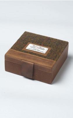 Harris Tweed Stornoway Trinket Box
