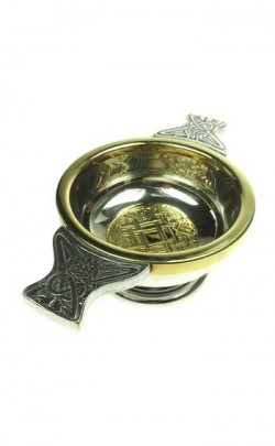 Celtic Gold Quaich