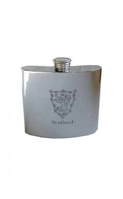 Lion of Scotland Hip Flask