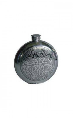 Round Celtic Knot Flask