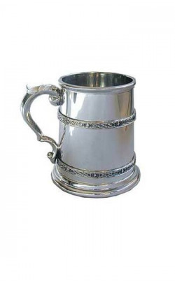 Double Celtic Band Tankard