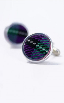Luxury Tartan Cuff Links