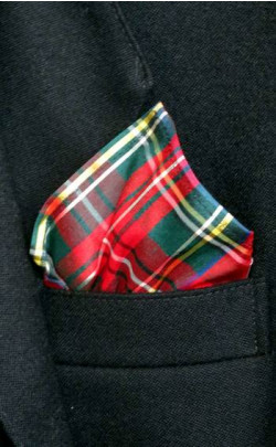 Silk Tartan Pocket Square