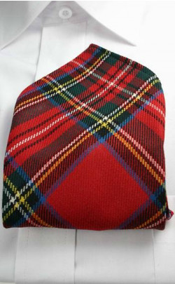 Tartan Pocket Square, set of 3