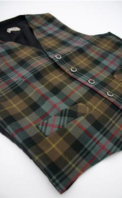 Gent's Luxury Tartan Waistcoat