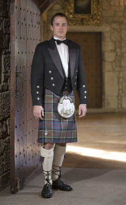 Classic Prince Charlie Kilt Outfit