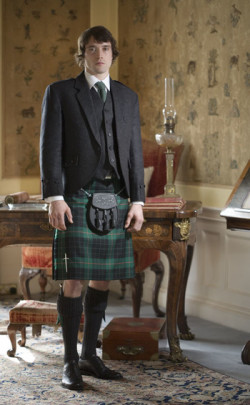 Luxury Tweed Day Kilt Outfit